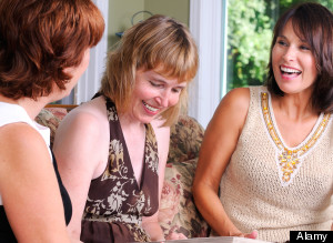 Three Middle Age Women