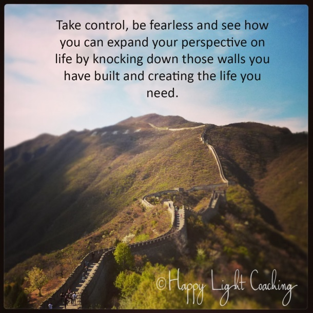 Take control, be fearless